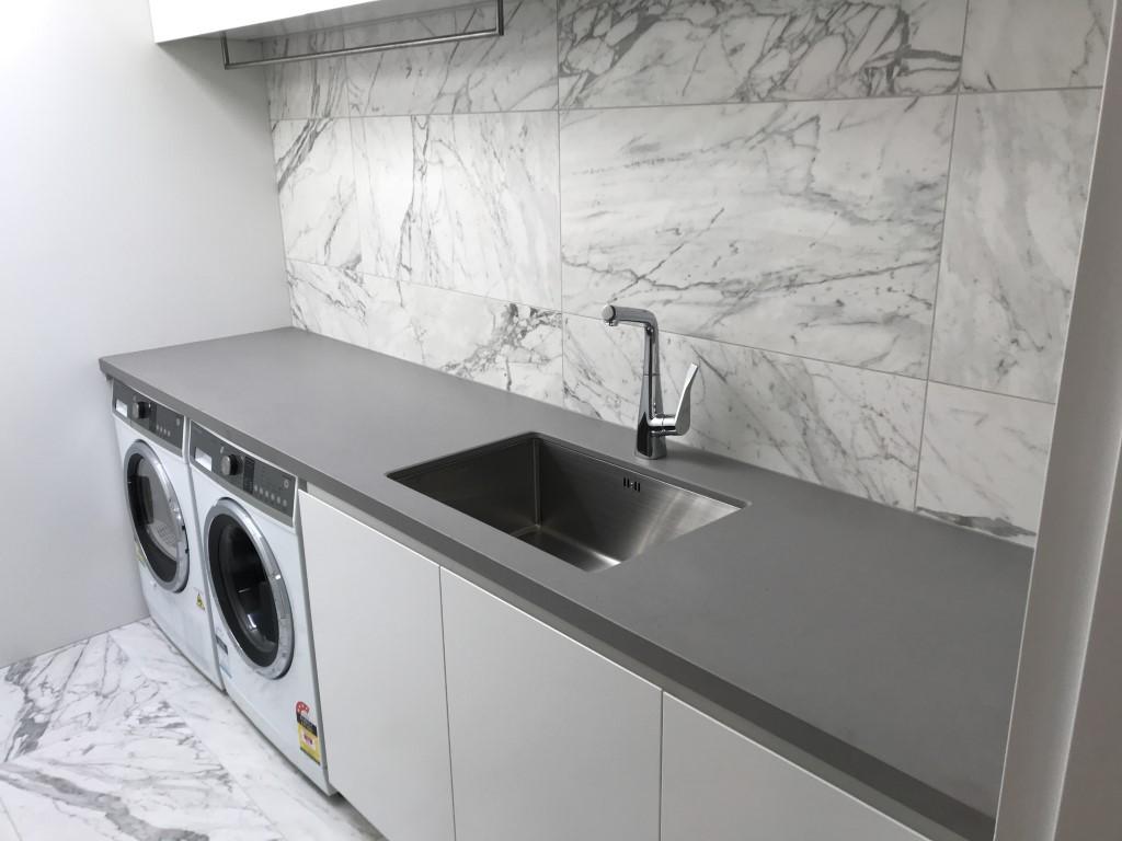 Caesarstone Sleek Concrete Laundry Benchtop